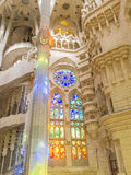 Sagrada Familia in Barcelona 0523 Stock Foto