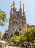 Sagrada Familia Barcelona Royalty-vrije Stock Foto