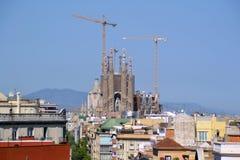 Sagrada Familia Barcelona Royalty-vrije Stock Afbeeldingen