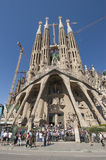 Sagrada Familia, Barcelona Royalty-vrije Stock Foto's