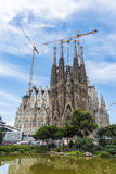 Sagrada Familia, Barcelona. Royalty Free Stock Photo
