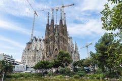 Sagrada Familia, Barcelona. Stock Photos