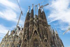 Sagrada Familia, Barcelona. Stock Photo