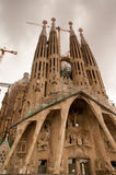 Sagrada Familia Barcelona Catalonia Stock Photo