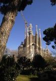 Sagrada Familia in Barcelona, Catalonia, Spain. Sagrada Familia in Barcelona, Spain royalty free stock photos