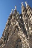 Sagrada Familia in Barcelona Stock Images
