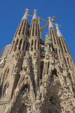 Sagrada Familia in Barcelona Royalty Free Stock Images