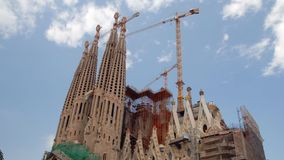 Sagrada Familia, Barcelona stock video