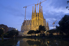 Sagrada Familia Barcelona Royalty Free Stock Image