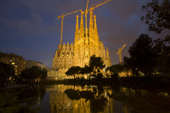 Sagrada Familia Barcelona Royalty Free Stock Photo