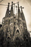 Sagrada Familia in Barcelona Stock Image