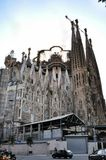 Sagrada Familia in Barcelona Royalty Free Stock Photography