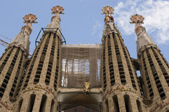 Sagrada Familia (Barcelona) Royalty Free Stock Photos