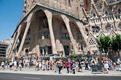 Fragment van Sagrada DE Familia, Barcelona, Spanje Royalty-vrije Stock Afbeelding