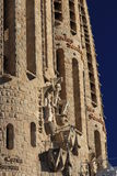 Sagrada Familia in Barcelona. Details of Sagrada Familia in Barcelona. Catalonia. Spain Royalty Free Stock Photography