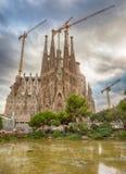 Sagrada Familia, Barcelona, Espanha Imagem de Stock Royalty Free
