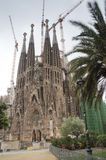 Sagrada Familia in Barcelona Stock Photography