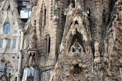 The Sagrada Familia in Barcelona Stock Image