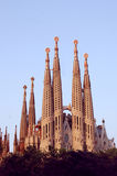 Sagrada Familia. In Barcelona, by Gaudi. Finished and touched up in Photoshop Stock Images
