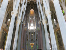 Sagrada Familia in Barcelona Stock Photos