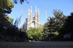Sagrada Familia, Barcelona -, katalończyk obrazy stock