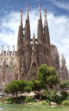 Sagrada Familia Barcelona Royalty Free Stock Photos