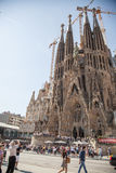 Sagrada Familia in Barcelona. royalty free stock photography