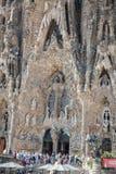 Sagrada Familia in Barcelona. Stock Photography