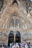 Sagrada Familia in Barcelona. Royalty Free Stock Photography