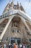 Sagrada Familia in Barcelona. Royalty Free Stock Photo