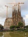 Sagrada Familia in Barcelona Stock Photography