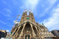 Sagrada Familia - Barcelona Spain Royalty Free Stock Photo
