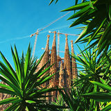 Sagrada Familia, Barcelona - Spain Stock Photo