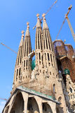 Sagrada Familia in Barcelona, Spain Stock Image
