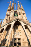 Sagrada Familia  in Barcelona, Spain. Stock Photography