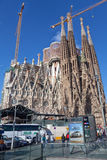 Sagrada Familia - Barcelona, Spain Royalty Free Stock Photos