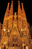 Sagrada Familia in Barcelona, Spain Stock Photography