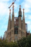 Sagrada Familia, Barcelona, Spain. Stock Photo
