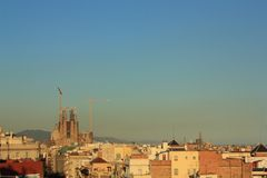 Sagrada Familia, Barcelona, Spain. Royalty Free Stock Image