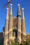 Sagrada Familia in Barcelona, Spain. Stock Photo