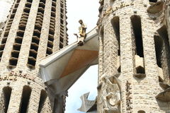 Sagrada Familia in Barcelona. Spain Royalty Free Stock Photos