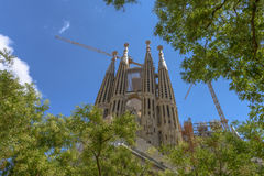 Sagrada Familia, Barcelona, Spain Royalty Free Stock Image