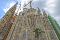 Sagrada Familia, Barcelona, Spain Royalty Free Stock Images
