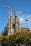 Sagrada Familia - Barcelona, Spain Stock Photography