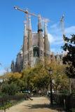 Sagrada Familia - Barcelona, Spain Stock Photos