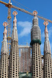 Sagrada Familia - Barcelona, Spain Royalty Free Stock Photography