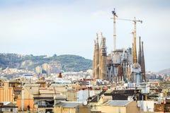 Sagrada Familia, Barcelona, Spain. Sagrada Familia by Antonio Gaudi, Barcelona, Spain Royalty Free Stock Images