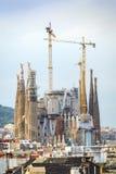 Sagrada Familia, Barcelona, Spain. Sagrada Familia by Antonio Gaudi, Barcelona, Spain Stock Photo