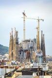 Sagrada Familia, Barcelona, Spain. Sagrada Familia by Antonio Gaudi, Barcelona, Spain Stock Photography