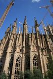 Sagrada Familia, Barcelona Spain. Basílica i Temple Expiatori de la Sagrada Família, Barcelona Spain. Designed by Spanish Architect Antoni Gaudi Stock Photography